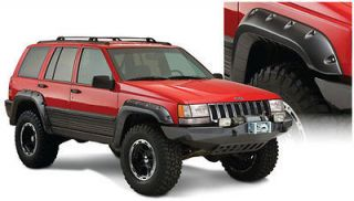 Bushwacker Cut Out Fender Flares for 1993 1998 Jeep Grand Cherokee ZJ