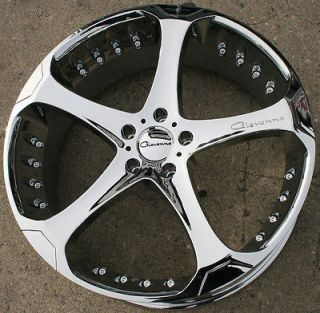 DALAR 22 CHROME RIMS WHEELS CADILLAC CTS 08 up / 22 x 9.0 5H +38