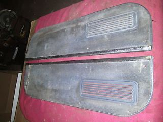 Chevy Chevrolet Truck gmc DOOR PANEL LOWER CARPET W/VENTS K30 C/K 10