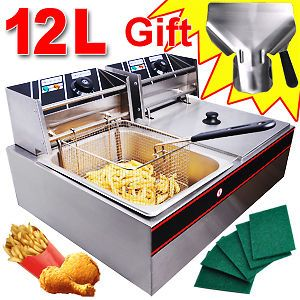 commercial deep fryer in Restaurant & Catering
