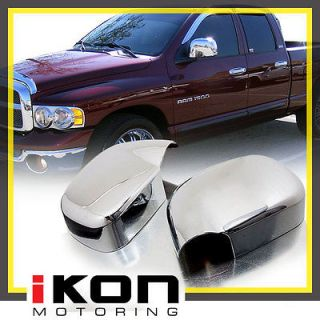 RAM 1500 2500 3500 PICKUP MIRROR CHROME DOOR HANDLE COVER SET W/PSKH