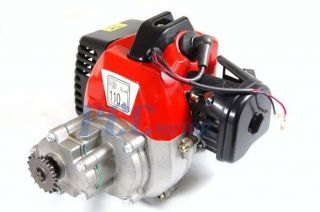 33CC ENGINE 2 STROKE MOTOR MINI POCKET BIKE ATV 1E36F V EN01P