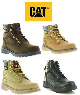Caterpillar Boots Genuine Stickshift Mens Casual Work Boots Sizes UK 6
