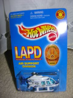 1999 HOT WHEELS SPECIAL EDITION LAPD AIR SUPPORT DIVISION(HELIC OPTER)