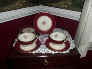 Royal Epiag Czechoslovakia china TEA CUPS AND SAUCERS VERY RARE ESTATE