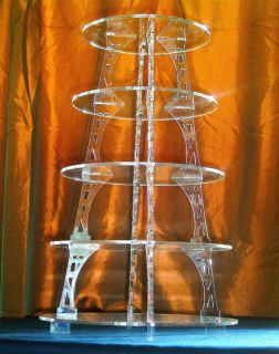 ACRYLIC CUPCAKE PARTY WEDDING CAKE STAND 3 4 5 6 7 TIER