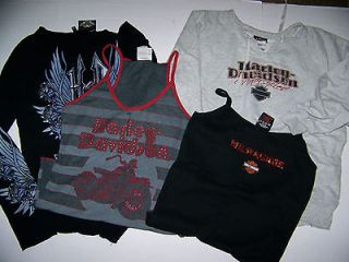 ladies harley davidson shirt in Womens Clothing
