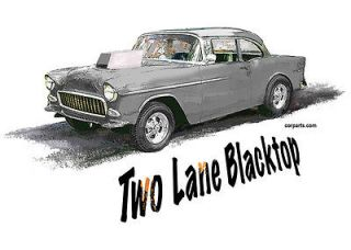 SHIRT 55 Chevy Two Lane Blacktop