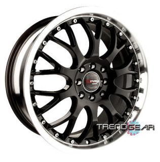 18 DRAG DR19 BLACK WHEELS RIMS DODGE NEON LANCER GALANT