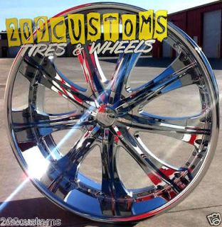 RED SPORT WHEELS RIMS TIRES RSW33 5X115 5X120 +13 OFFSET DODGE MAGNUM
