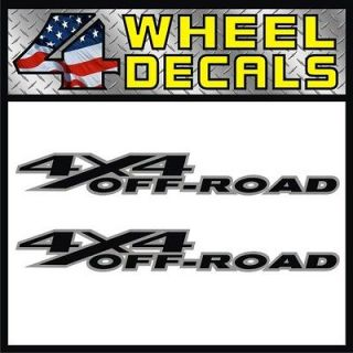 4x4 Off Road Decals / Stickers Dodge Ram Big Horn Truck