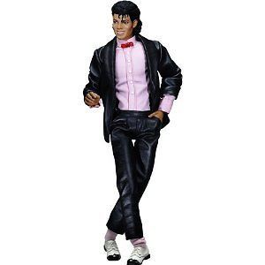 PLAYMATES TOYS Michael Jackson Collection Doll Billie Jean  PV