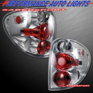 01 06 DODGE CARAVAN 01 03 TOWN COUNTRY ALTEZZA TAIL LIGHTS CHROME