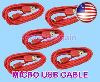MIcro USB Data Sync Charger Cable For Kindle Fire Nexus 7 10 Tablet