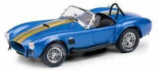 1966 Shelby Cobra 427 S/C in Blue and Gold   Franklin Mint B11F070