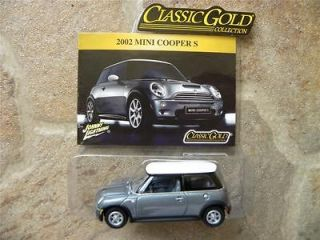 2002 MINI COOPER 2003 JOHNNY LIGHTNING CLASSIC GOLD COLLECTION 164