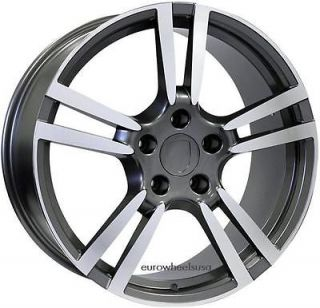 20 Turbo II Style Wheels Set For Porsche Panamera S 4S Rims 20 X 9