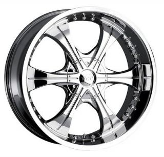 20 inch VCT Scarface 2 chrome wheel rim 5x5 5x127 Jeep Wrangler