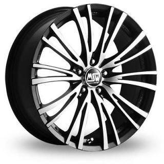 16 MSW (by OZ) 20 5 Alloy Wheels & Nankang AS 1 Tyres   HONDA