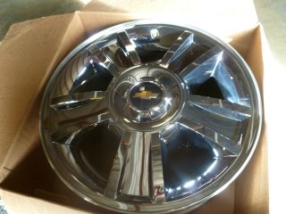 2013 Chevy Silverado Rims Wheels Factory 20 inch Wheels Chrome