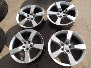 20 2010 2013 Chevy Camaro SS Midnight Silver Wheels Rims 5444 5446