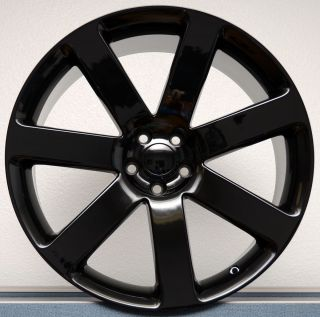 2012 Gloss Black Chrysler 300C SRT8 Challenger Charger Magnum Wheels