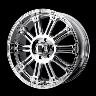 18 XD Hoss Chrome Rims with 275 70 18 Nitto Trail Grappler MT Tires