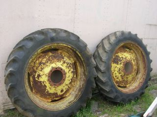 John Deere 2010 Rear Wheels and Tires 13 9 36