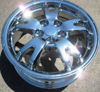Stock 4 15 Factory Toyota Prius Chrome Wheels Rims 2008 2011