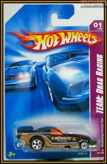 2008 Hot Wheels Mustang Funny Car Black