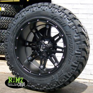 20 Fuel Off Road Hostage Black Nitto Trail Grappler 35x12 50R20 35