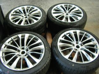 Infiniti G37S 19 Factory Wheels Tires Rims Enkie 2011