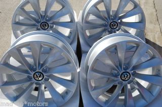 19 Turbine Style Alloy Wheels VW Scirocco 2008 Onwards