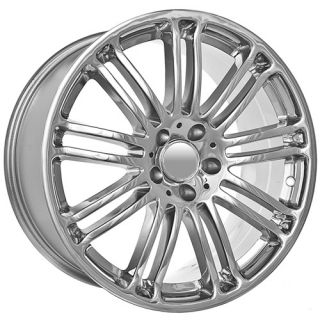 inch Chrome Mercedes Benz C 2010 CLK E ml s SL SLK Wheels Rims