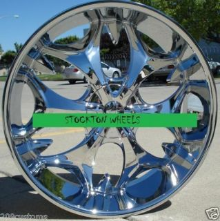 WHEELS CHROME RIMS BW3 6X135 FORD EXPEDITION 2003 2004 2005 2006 2007