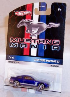 Hot Wheels Mustang Mania 1 2010 Ford Mustang GT New