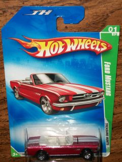 2009 Hot Wheels Treasure Hunt Ford Mustang 1 of 12