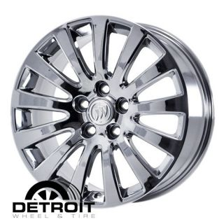 BUICK REGAL 2010 2012 PVD Bright Chrome Wheels Rims Factory 4100