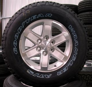 2012 GMC Sierra Yukon 17 Wheels Rims Tires Chevy Silverado Suburban