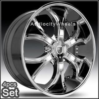 22inch Rims Wheels Chevy Ford RAM Lexani Escalade