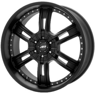 GMC Yukon Denali CHEVY Tahoe GM Silverado 1500 Truck BLACK RIMS WHEELS