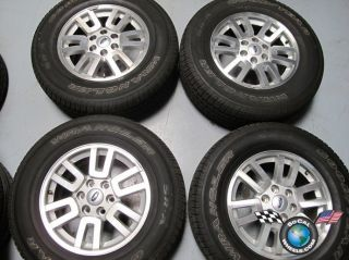 Four 07 11 Ford Expedition F150 Factory 18 Wheels Tires Rims 3657