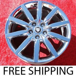 NEW 19 JAGUAR XK8 XKR OEM CHROME WHEELS RIMS XJ8 XJR EXCHANGE 59794
