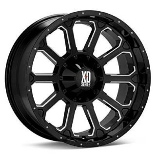 XD Black Wheels Rims 6x5 5 6x139 7 Titan Xterra 4 Runner Rodeo