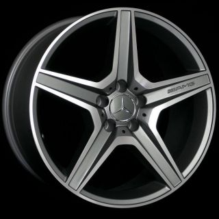 18 AMG Style Staggered Wheels 5x112 Rim Fits Mercedes Benz C Class