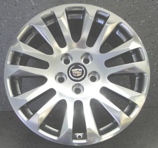 CADILLAC CTS 18 ORIGINAL OEM BRIGHT WHEELS RIMS ORIGINAL WHEELS NEW