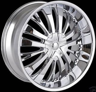 22 inch TF705 Rims Wheels and Tires Impala Monte Carlo Accord Explorer