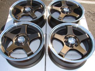 15 4x114 3 4x100 4 Lug Wheels Civic Accord Prelude Cabrio Elantra CL