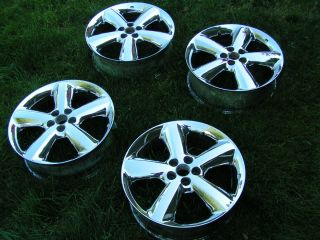 PT Cruiser GT Factory Chrome Rims Wheels 17x6 17 inch 5 Bolt