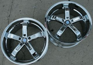 Beyern Five 5 19 Chrome Rims Wheels E39 E60 5 Series